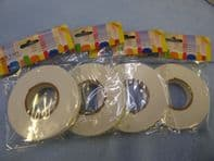Double sided 3D  foam tape. Available in 2, 4 or 10 roll packs
